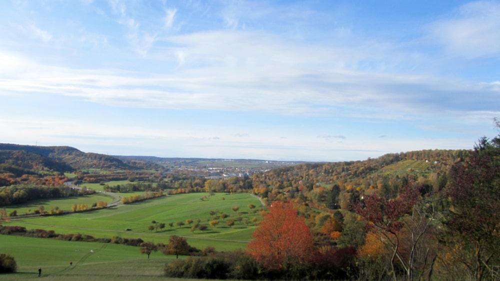 Blick vom Rappenhof