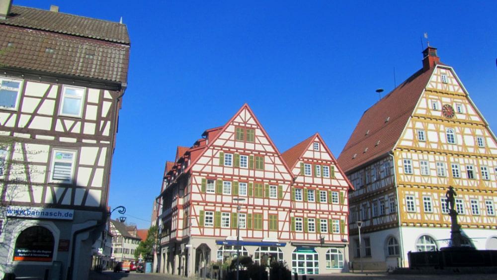 Leonberg, Marktplatz