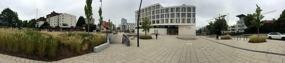 neues Rathaus, Panoramafoto