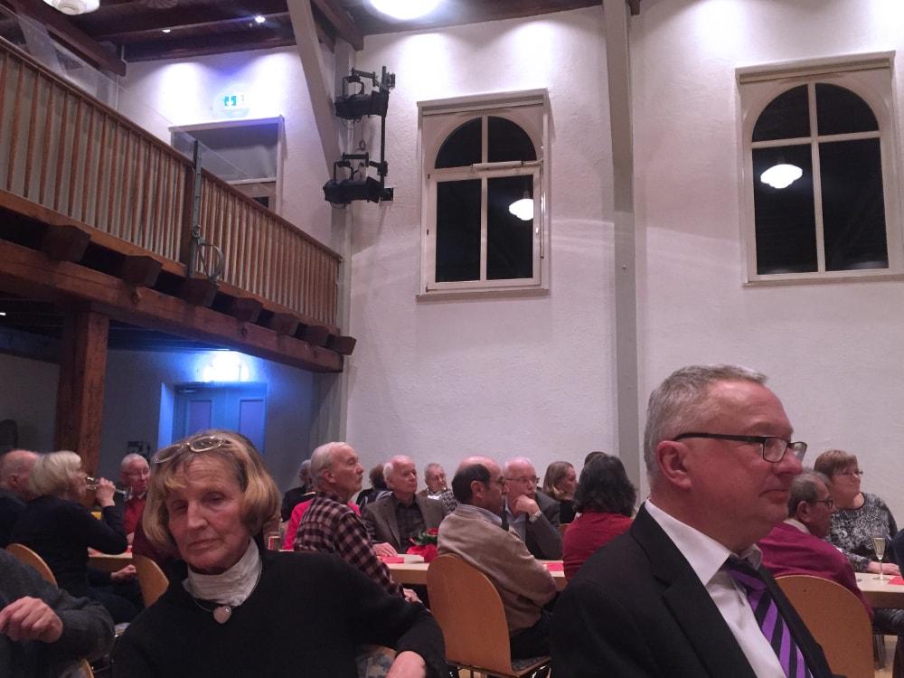 Gäste beim Neujahrsempfang der SPD